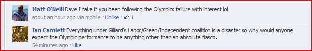Gillard To Blame For Ausfailure Being Sh!t At Sports For The Last Decade
